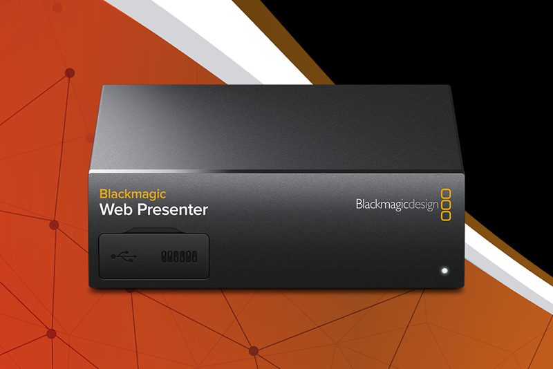 Image result for blackmagic design web presenter